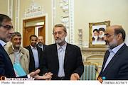 علی لاریجانی در دیدار مدیران رسانه ملی
