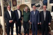 دیدار نوروزی وزیر ارشاد با مسعود کیمیایی