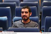 حسین دارابی در مراسم افتتاحیه هفته هنر انقلاب اسلامی