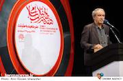 سخنرانی مجید سرهنگی در مراسم افتتاحیه هفته هنر انقلاب اسلامی