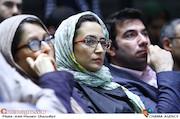 نگار جواهریان در نشست خبری سی و ششمین جشنواره جهانی فیلم فجر