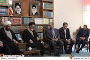 حجتالاسلام والمسلمین سیدمحمدعلی آلهاشم در دیدار رئیس حوزه هنری