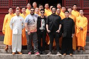 بازیگران سریال «ساخت ایران ٢» در معبد شائولین