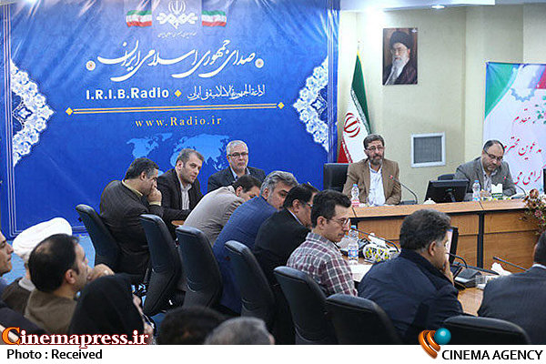 حمید شاه آبادی  در جمع رادیویی ها