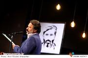 کوروش زارعی در مراسم انتخاب چهره سال هنر انقلاب اسلامی