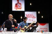 محمد اصفهانی در مراسم انتخاب چهره سال هنر انقلاب اسلامی