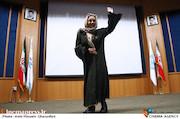 بهنوش بختیاری در تجلیل از عوامل به وقت شام در دانشگاه تهران