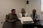 جشن پایان ضبط «آنام» در یک بیمارستان