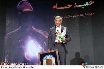عکس/ مراسم انتخاب چهره سال هنر انقلاب اسلامی