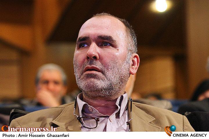 رضا برجی در مراسم انتخاب چهره سال هنر انقلاب اسلامی