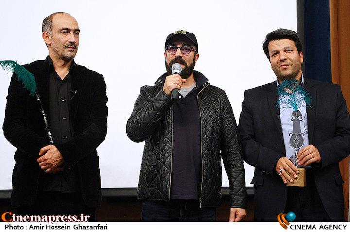 عکس/ تجلیل از عوامل فیلم سینمایی«به وقت شام» در دانشگاه تهران
