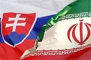 پرچم ایران و اسلواکی