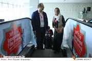 فاطمه معتمدآریا و سیدرضا میرکریمی در اولین روز سیوششمین جشنواره جهانی فیلم فجر