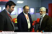 پدر شهید مصطفی احمدی روشن در اولین روز سیوششمین جشنواره جهانی فیلم فجر