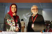 محمود کلاری و مریلا زارعی در اولین روز سیوششمین جشنواره جهانی فیلم فجر