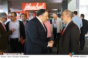 احمدرضا معتمدی و علیرضا تابش در اولین روز سیوششمین جشنواره جهانی فیلم فجر