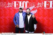 صابر ابر و امیر جدیدی در دومین روز سیوششمین جشنواره جهانی فیلم فجر