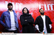 صابر ابر، پریناز ایزدیار و امیر جدیدی در دومین روز سیوششمین جشنواره جهانی فیلم فجر