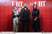 شقایق فراهانی، محمدرضا غفاری و شیدا خلیق در دومین روز سیوششمین جشنواره جهانی فیلم فجر