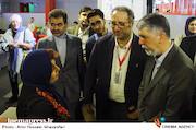 بازدید وزیر فرهنگ و ارشاد اسلامی از سی و ششمین جشنواره جهانی فیلم فجر