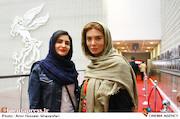 نگار فروزنده و نورا هاشمی در سومین روز سیوششمین جشنواره جهانی فیلم فجر