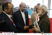 محمود کلاری، محمدمهدی حیدریان و سیدرضا میرکریمی در سومین روز سیوششمین جشنواره جهانی فیلم فجر