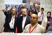 مازیار میری، محمدمهدی حیدریان و سیدرضا میرکریمی در سومین روز سیوششمین جشنواره جهانی فیلم فجر