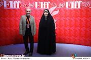 معصومه ابتکار و کمال تبریزی در سومین روز سیوششمین جشنواره جهانی فیلم فجر