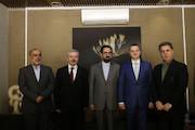 جلسه دیدار بین معاون وزیر فرهنگ اسلواکی و معاون هنری وزیر ارشاد
