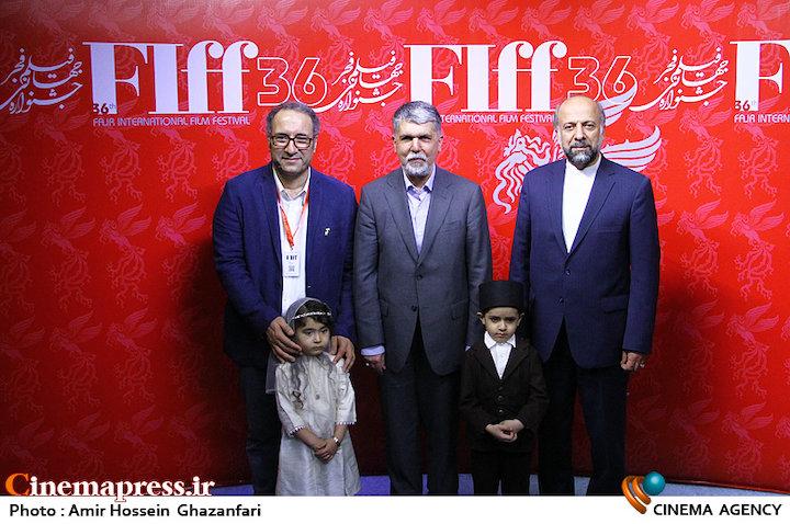 عکس/ بازدید وزیر فرهنگ و ارشاد اسلامی از سیوششمین جشنواره جهانی فیلم فجر