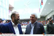 ابراهیم حاتمی کیا و جلیل فرجاد در چهارمین روز سیوششمین جشنواره جهانی فیلم فجر