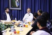 نشست مشترک مدیر شبکه ۴ سیما با رییس سازمان سینمایی حوزه هنری