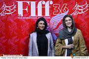 ویشکا آسایش و آزاده صمدی در پنجمین روز سیوششمین جشنواره جهانی فیلم فجر