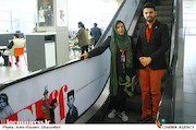 امید معلم و آذر معماریان در پنجمین روز سیوششمین جشنواره جهانی فیلم فجر