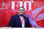 علیرضا تابش در پنجمین روز سیوششمین جشنواره جهانی فیلم فجر