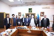 دیدار رییس رسانه ملی با حجت الاسلام قرائتی