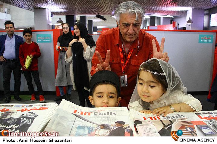 رضا کیانیان در پنجمین روز سیوششمین جشنواره جهانی فیلم فجر