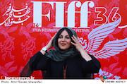 ستاره اسکندری در مراسم اختتامیه سیوششمین جشنواره جهانی فیلم فجر