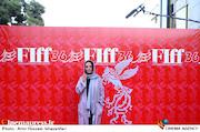مارال فرجاد در مراسم اختتامیه سیوششمین جشنواره جهانی فیلم فجر