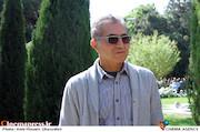فریدون آسرایی در مراسم تشییع پیکر مرحوم «ناصر چشم آذر»