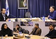 نشست مشترک مدیر شبکه المنار با رئیس سازمان سینمایی حوزه هنری