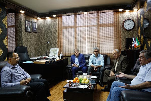 دیدار مدیر بهمن سبز با هیات مدیره انجمن سینماداران