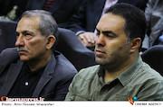 منصور غضنفری در مراسم تجلیل از پیشکسوتان انجمن طراحان فنی سینما