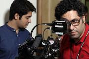تصویربرداری یک فیلم کوتاه در کویر
