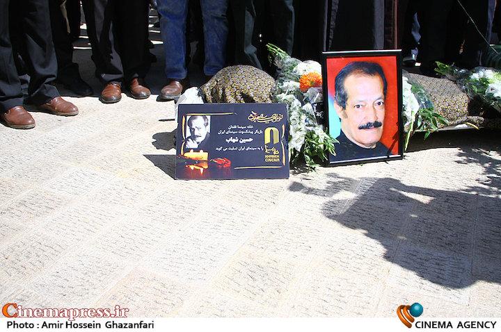 عکس/ مراسم تشییع پیکر مرحوم «حسین شهاب»