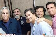 پیمان و مهراب قاسمخانی/ مهران مدیری