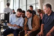 پشت صحنه فیلم سینمایی «سونامی» / علیرضا تابش