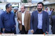 سیداحد میکائیل زاده و سعید الهی در گردهمایی انجمن سینمای انقلاب و دفاع مقدس