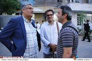 عباس حاج درویش و عباس رافعی در گردهمایی انجمن سینمای انقلاب و دفاع مقدس