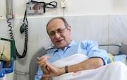 صدرالدین شجره در بیمارستان